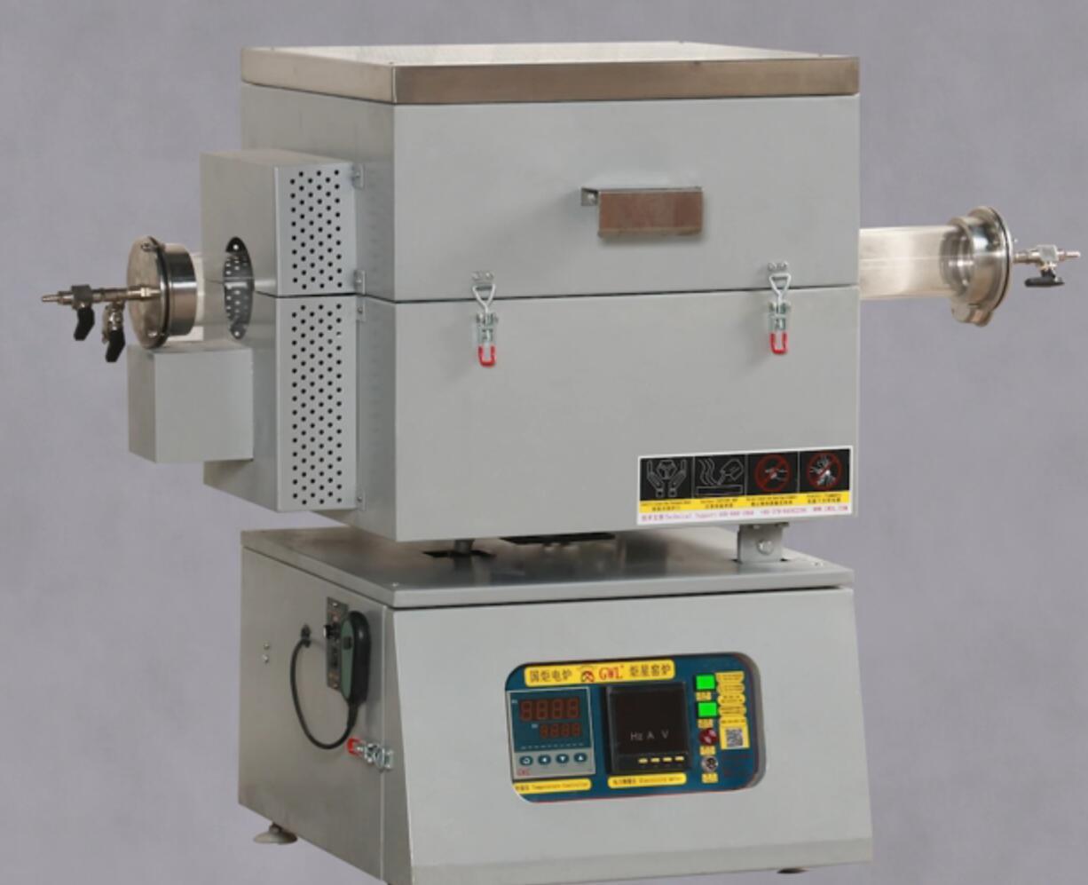 单温区可倾斜旋转管式电炉