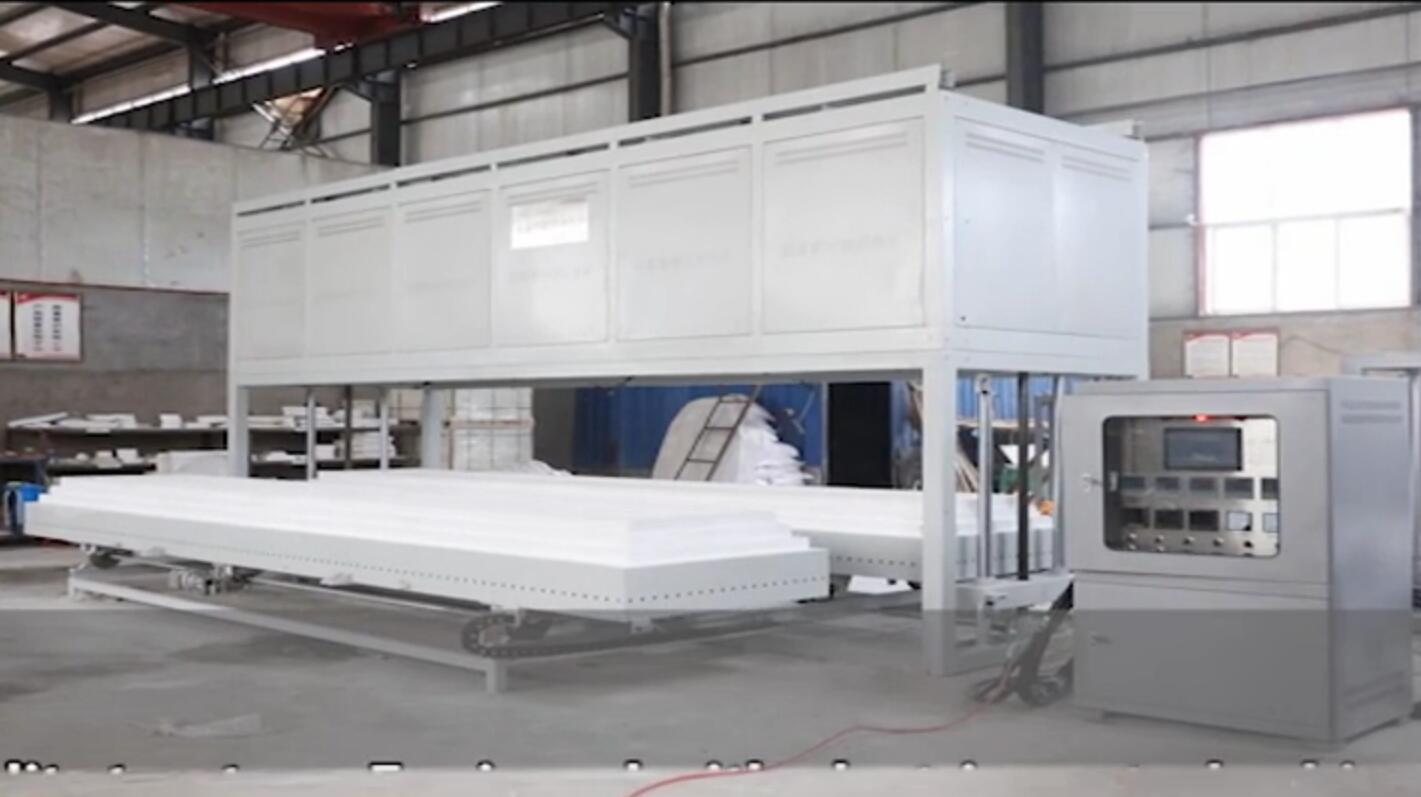 双料台6米大型高温节能升降炉