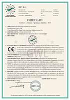 炬星GWL高温节能尾气净化炉欧盟认证CE证书