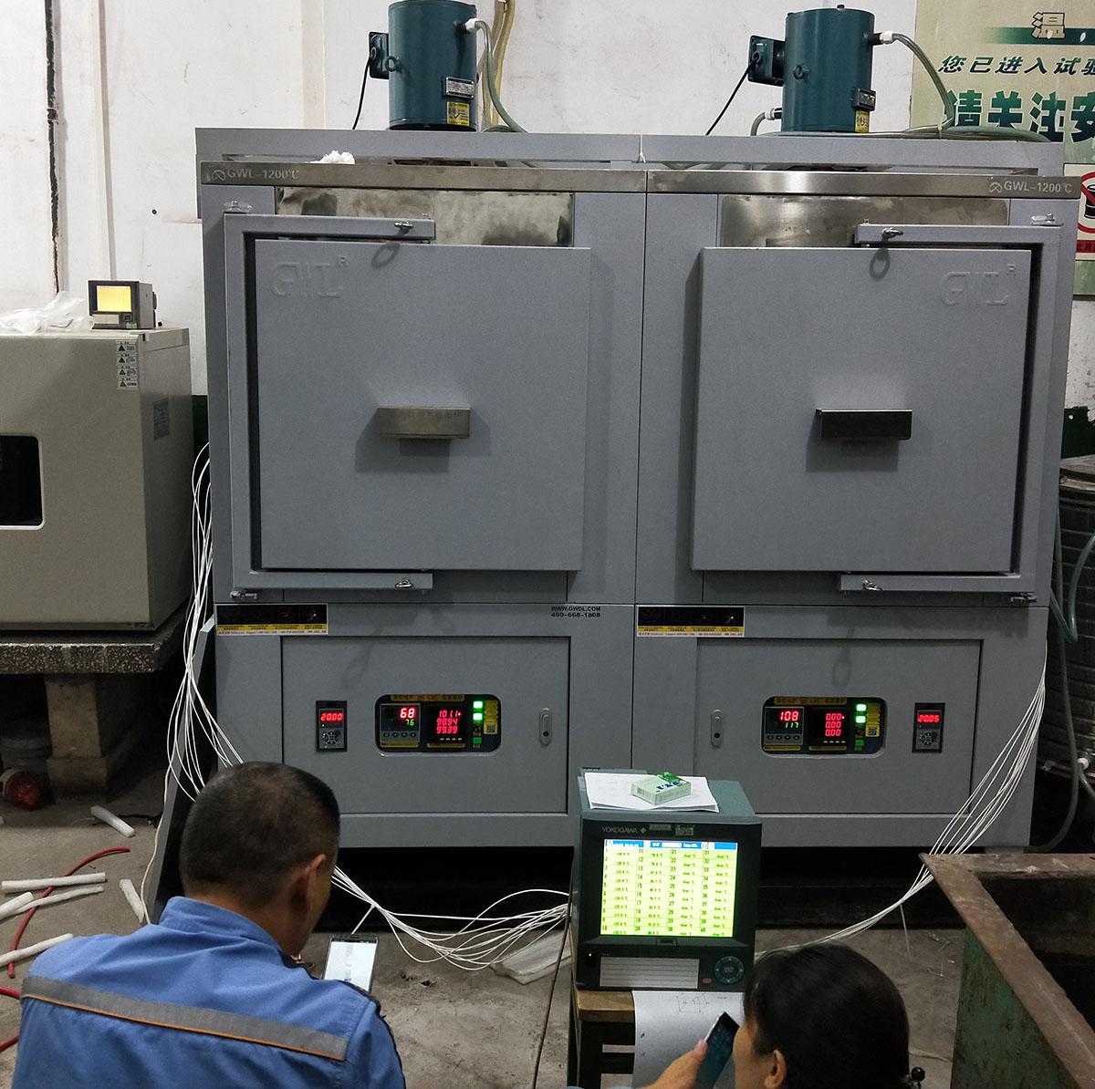 GWL系列精密电阻炉在九点测温检测下表现卓越