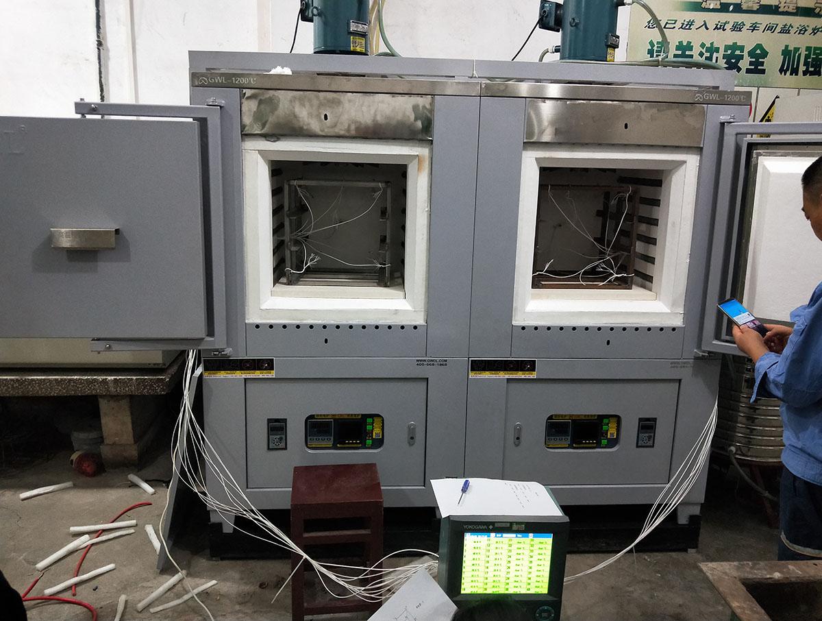 精密箱式电阻炉9点测温